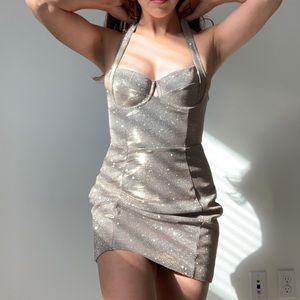 House of CB mini sparkly dress